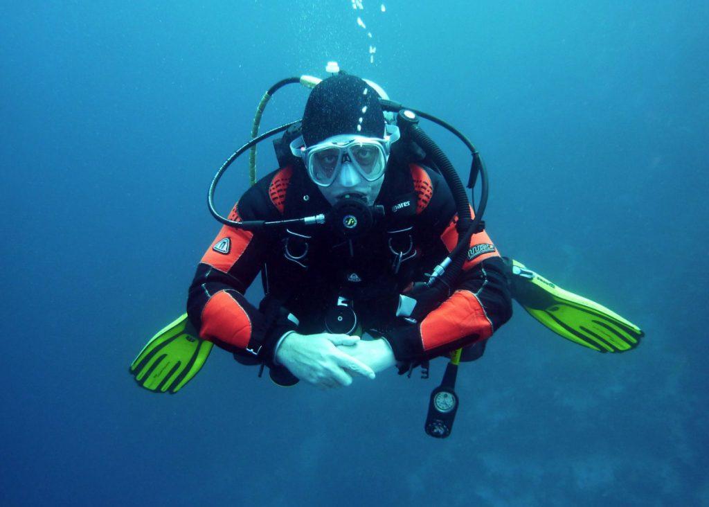 nurek pod wodą